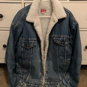 Levi's Type 3 Sherpa Lined Denim Jacket